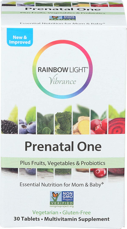Rainbow Light, Multivitamin Prenatal One, 30 Count