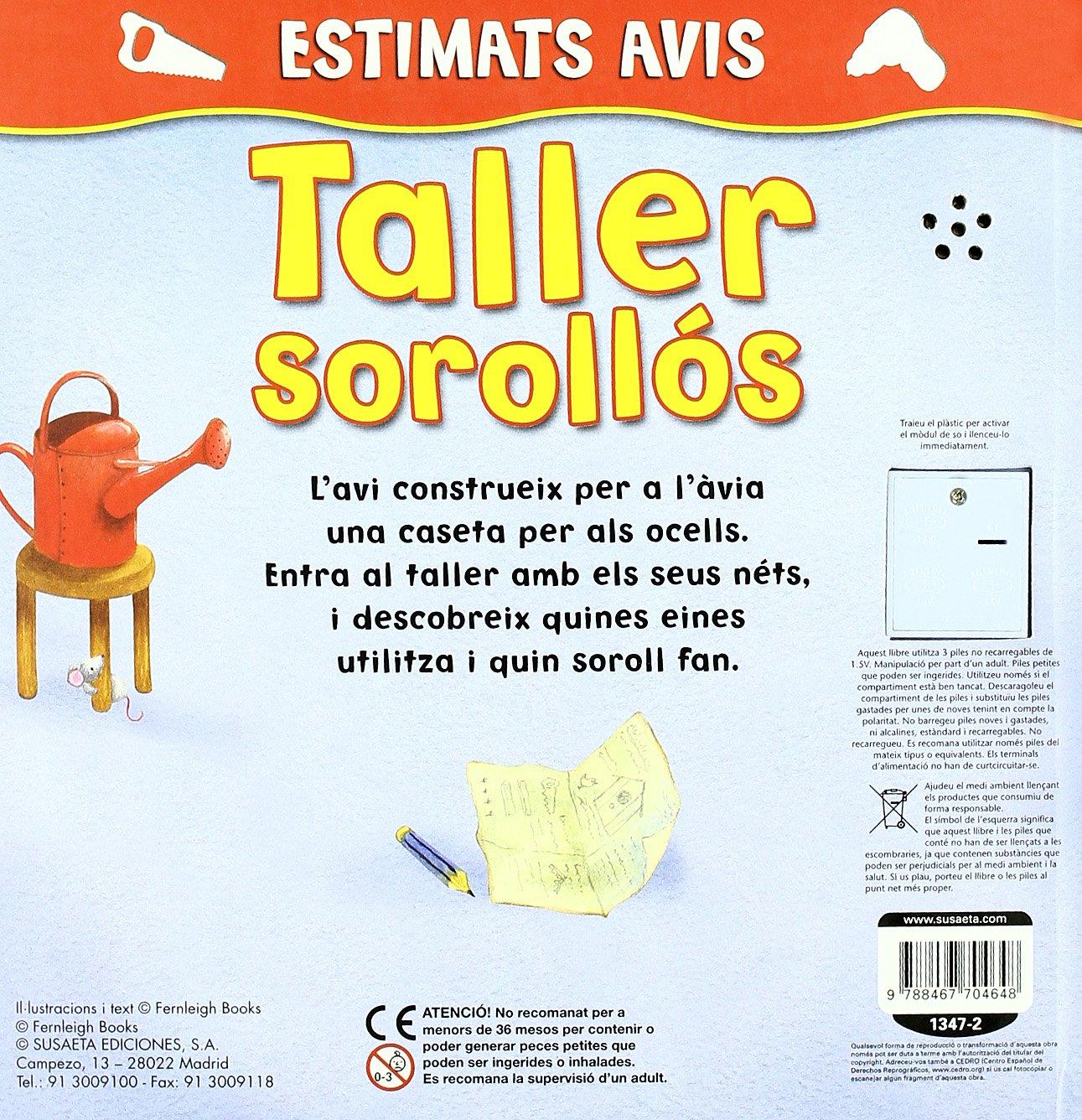 Taller Sorollos (Estimats Avis): Amazon.es: Books Fernleigh, Equipo Susaeta: Libros