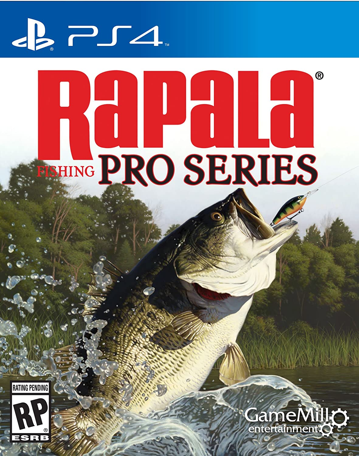 Amazon Com Rapala Pro Fishing Playstation 4 Standard Edition Game Mill Entertainment Video Games