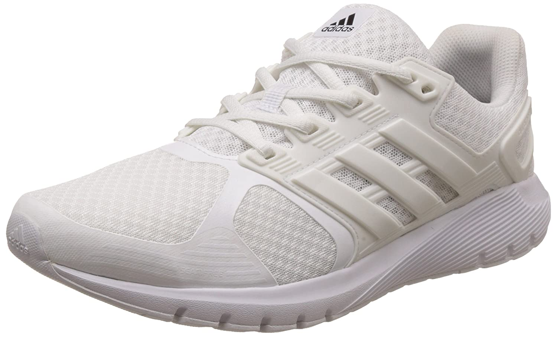 Adidas Duramo 8 M, Zapatillas de Running para Hombre 39 1/3 EU|Blanco (Ftwwht/Crywht/Cblack)
