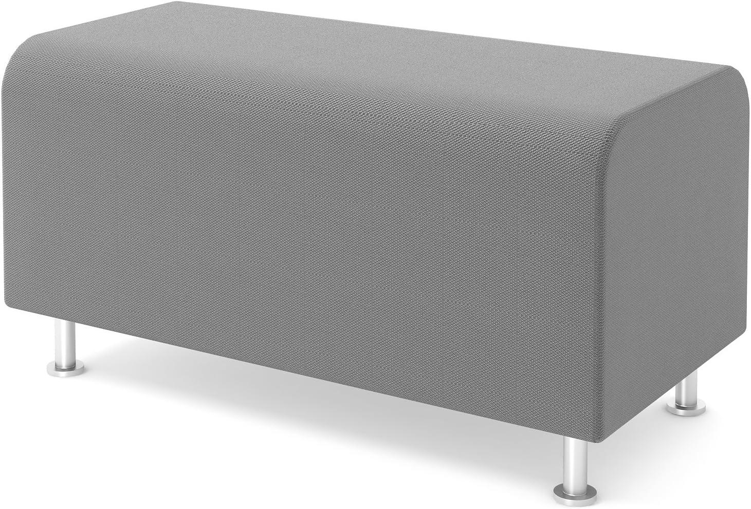 Black Fabric TS34403 Steelcase Turnstone Alight Bench Ottoman