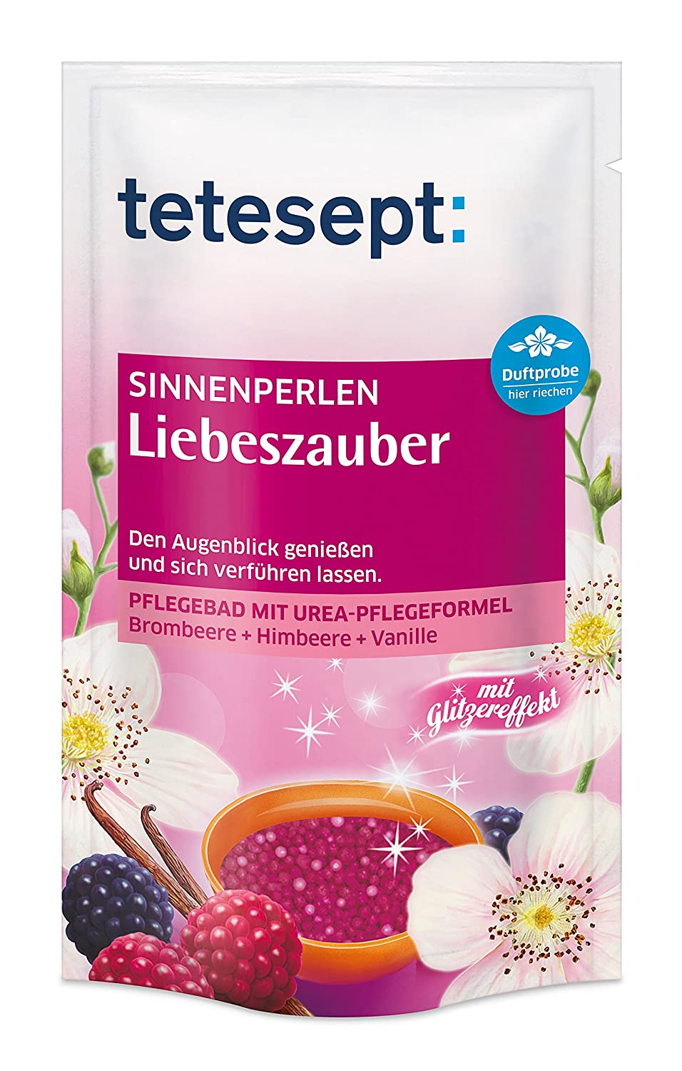 Tetesept 40375 Sinnen Perlen - Bagno Perla - Golden Magic - 6 Pack (6 x 80 gr) Merz Consumer Care GmbH (VSS) 86062