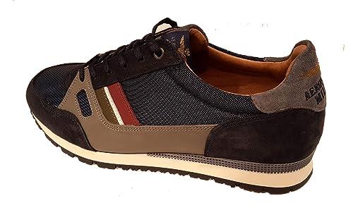 0c75eebb78 Aeronautica Militare Scarpe Sneakers SC147CT Blu/Grigio/Inchiostro ...