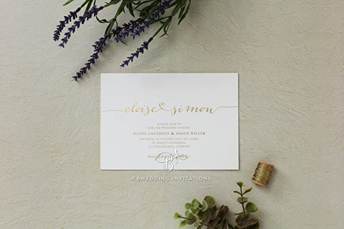 Wedding Invitations Infinity Perfect For Weddings Engagement Bridal Shower Party By B