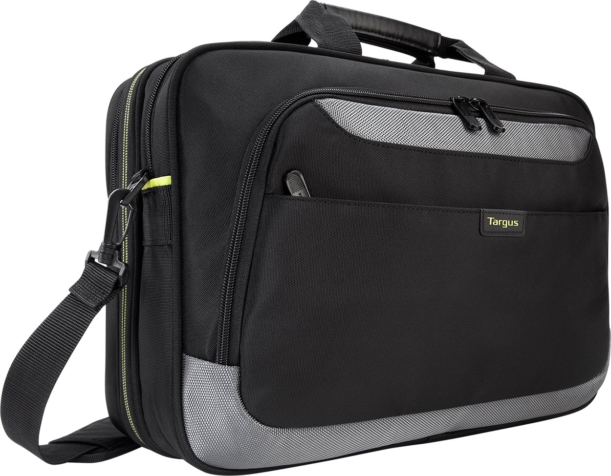 Targus CityGear II Laptop Bag for 15.6-Inch Laptops, Black (TCG465) by Targus