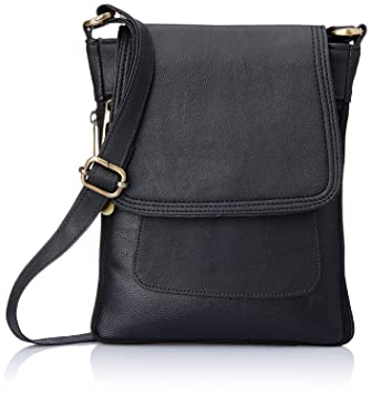 Buy SPHINX Leatherette Cross-body Sling Bag for men/boys - BLACK ...
