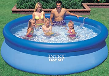 INTEX Easy Set Piscina, 305 x 76 cm - Sin Bomba de: Amazon ...