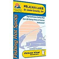 Pelican @ Orr Fishing Map, Lake (St. Louis Co)