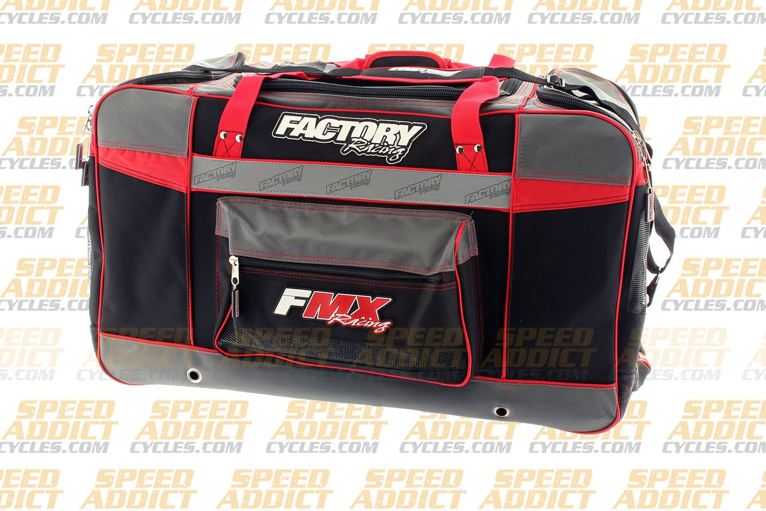 Factory FMX Motorcross Gear Bag XLarge Red by Factory Racing (Image #2)