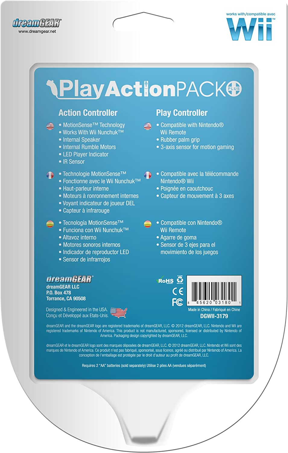 Amazon.com: Wii Play Action Pack Plus - Black: Video Games