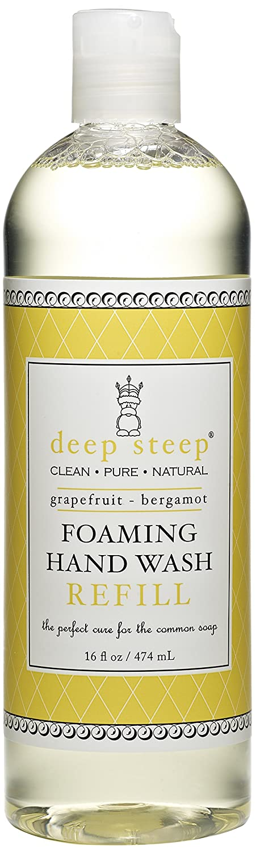 Deep Steep Foaming Hand Wash Refill, Grapefruit Bergamot 474 ml 12033