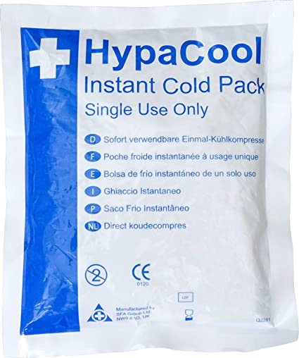 Safety First Aid Q2281PK24 - Bolsas de frío instantáneo, 1 paquete ...