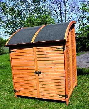Holz Bikeport Martin Fahrradgarage Geratehaus Schuppen Schrank