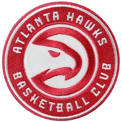 c5c16654376c2 Amazon.com : Official Atlanta Hawks Logo Large Sticker Iron On NBA ...
