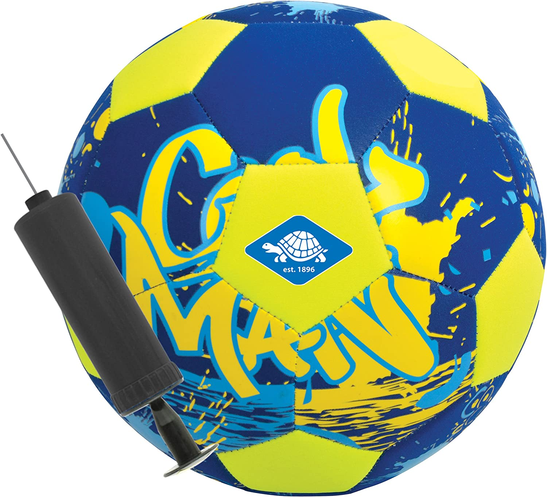 Balón de Fútbol de Playa de Neopreno, con Mini Bomba, Tamaño 5, Ø ...
