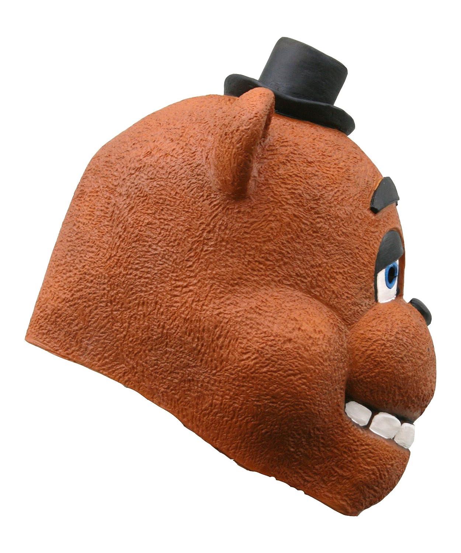 Fnaf freddy head for sale - Amazon Com Mypartyshirt Freddy Adult Mask Five Nights At Freddy S Clothing