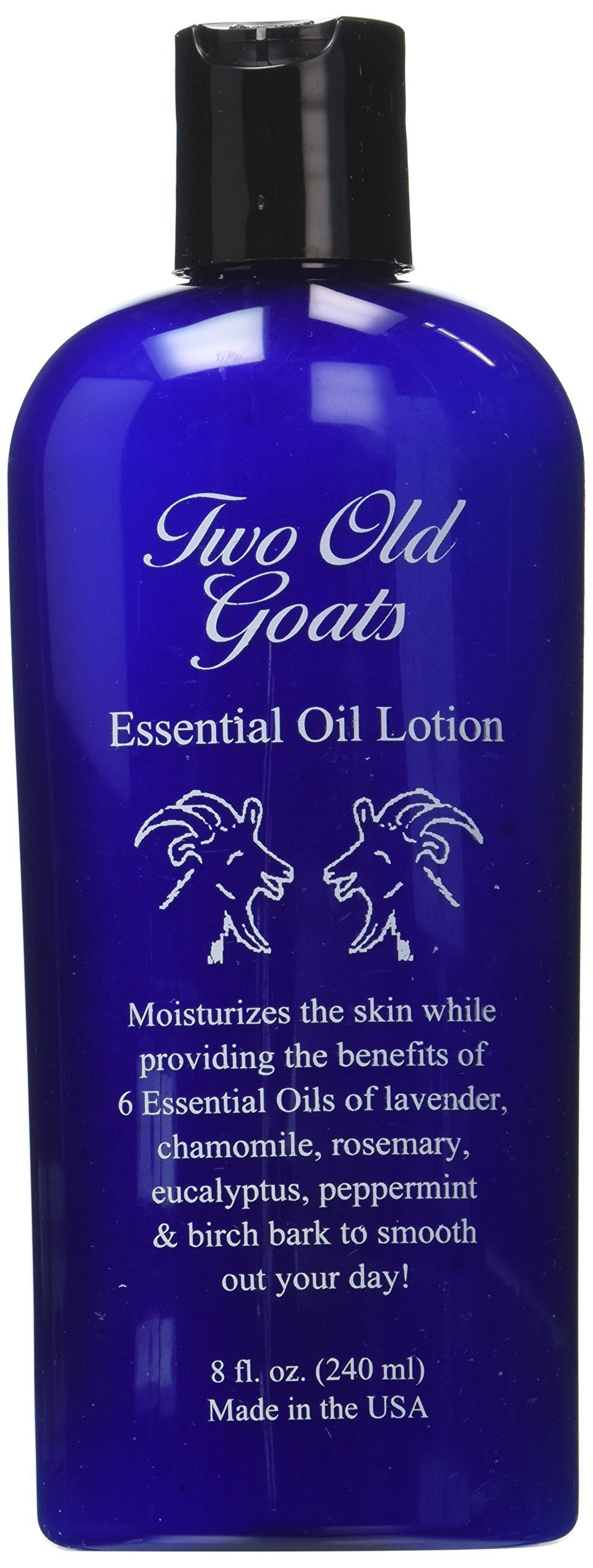 Two Old Goats Essential Lotion for your Toughest Aches and Pains, 8 oz, 2 Piece by Two Old Goats