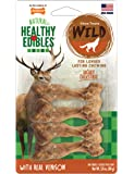 Nylabone Healthy Edibles Wild Venison Dog Treats | All Natural Grain Free Dog Treats Made in The USA Only | Small and…