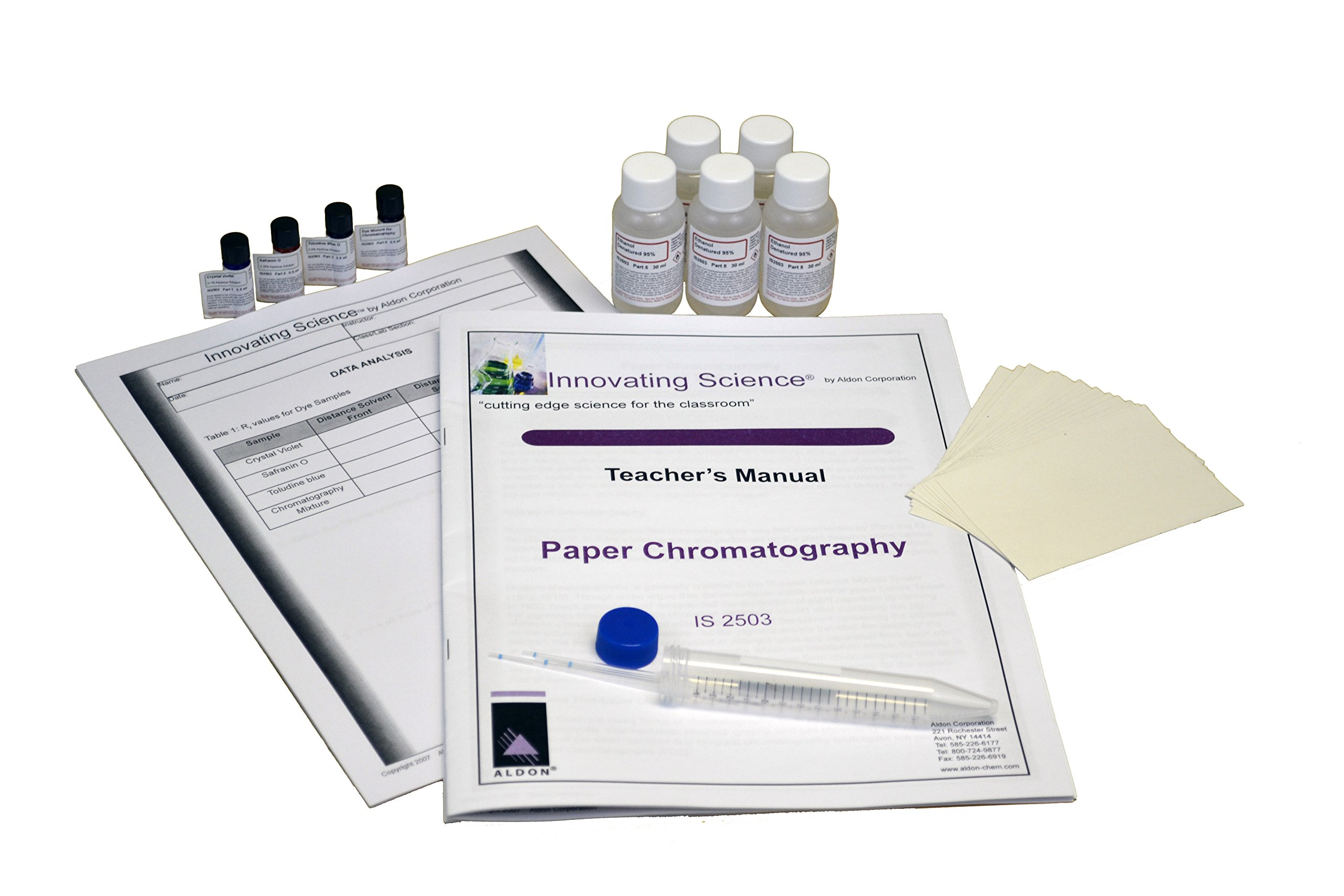 Innovating Science Paper Chromatography Kit to Separate Chemical Substances by Innovating Science
