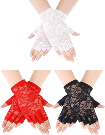 Fingerless Bridal Gloves \u0130vory Lace Glove Bridal Wedding Day Lace Gloves GS0205 Wedding Gloves \u0130vory Lace Gloves
