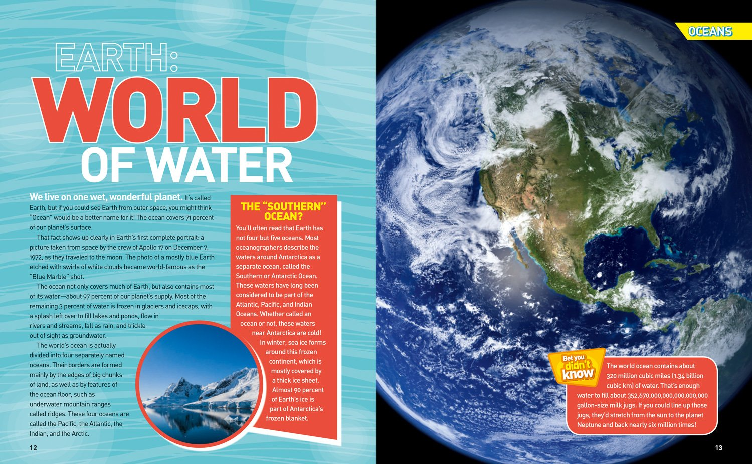Ultimate Oceanpedia: The Most Complete Ocean Reference Ever (National Geographic Kids) by National Geographic Society (Image #2)