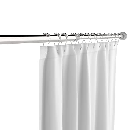 The CHO Stainless Steel Tension Shower Curtain Rod