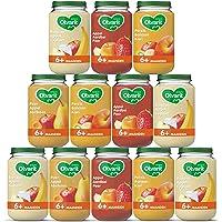 Olvarit Variatiemenu Fruit - 6 maanden 4 verschillende smaken 12x 200 gram