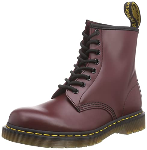 a7910d390ecb7 Dr. Martens 1460 Originals 8 Eye Lace Up Boot, Cherry Red Rouge Leather,