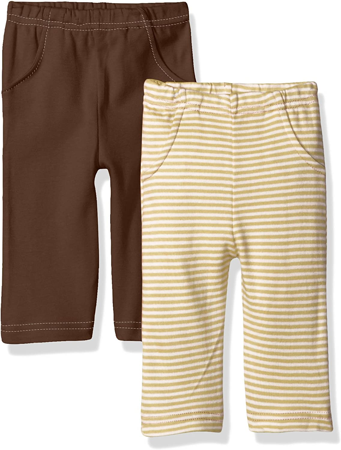 Touched by Nature Unisex Baby Organic Cotton Pants: Clothing