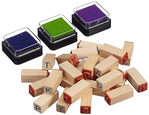 8 opinioni per Small Foot Company 8140- Set Timbri Lettere