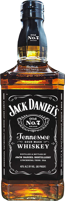 """Desperate Enterprises Jack Daniels Bottle Die Cut Large Format Premium Aluminum Sign, 9.75"""" W x 30.5"""" H"""