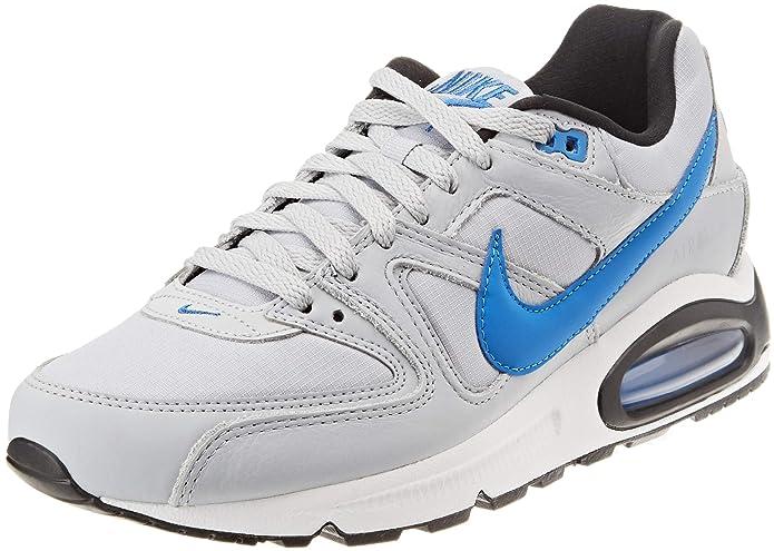 Nike Air Max Command Herren Sneaker Lauf-Schuhe grau/blau/schwarz