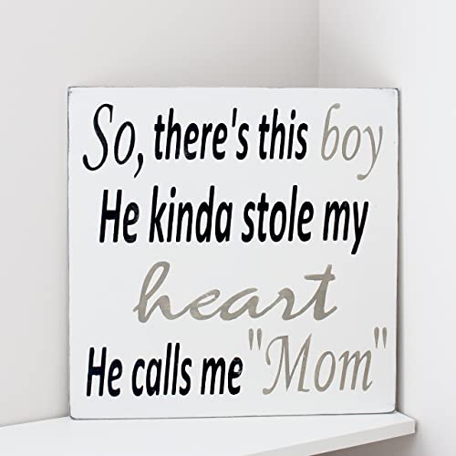 Amazoncom Theres This Boy That Stole My Heart Handmade
