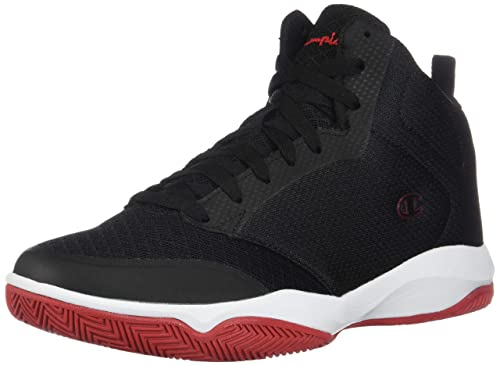 afc0fafd2 Champion Men s Black Red Men s Inferno Basketball Shoe 6.5 Regular ...