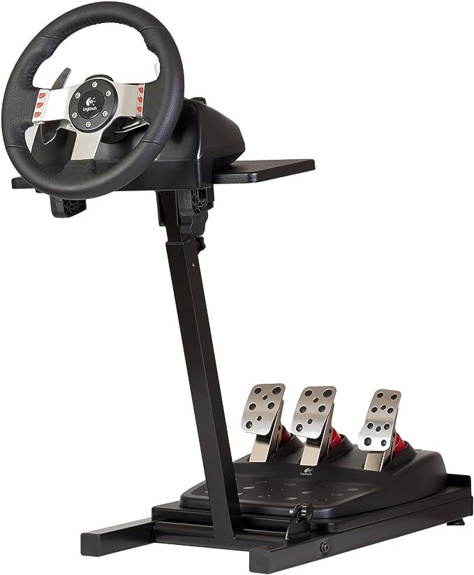 Soporte para volante - compatible con Logitech, Xbox y Thrustmaster: Amazon.es: Videojuegos