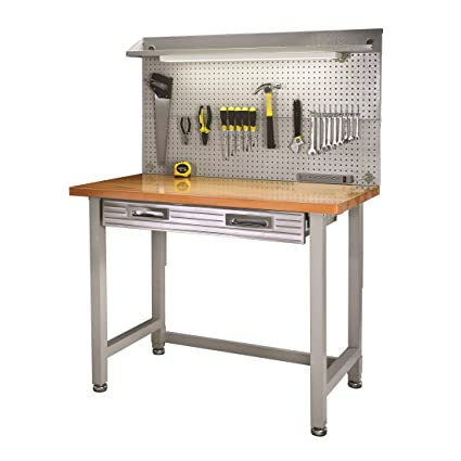 Amazoncom Seville Classics Uhd20247b Ultrahd Lighted Workbench