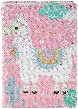 Fun Journals Unicorn Flamingo Llama Dream Catcher Sequin A5 Notebook