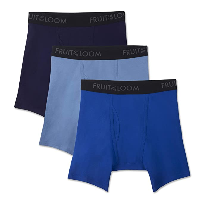 83914b6a Fruit of the Loom Men's Breathable Boxer Brief Assorted Colors (Pack of 3):  Amazon.ca: Clothing & Accessories