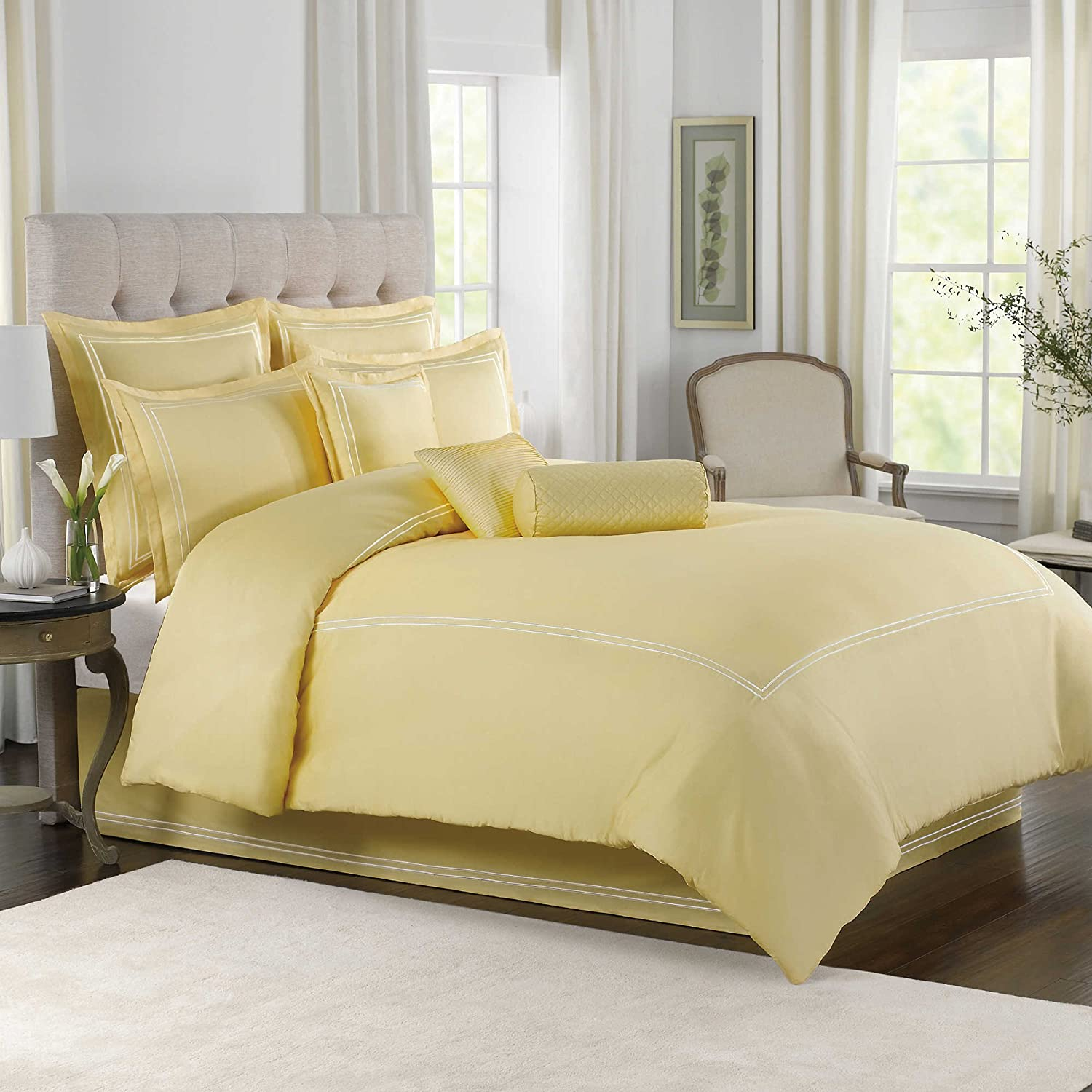 sets twin target superblackbird yellow sheets comforter solid info