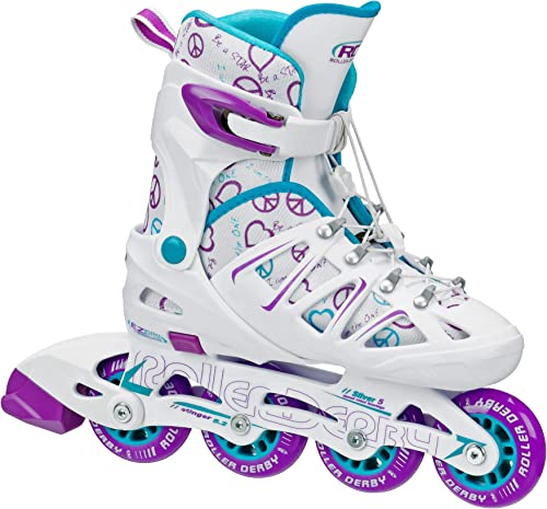 Roller Derby Girl s Stinger 5.2 Adjustable Inline Skate