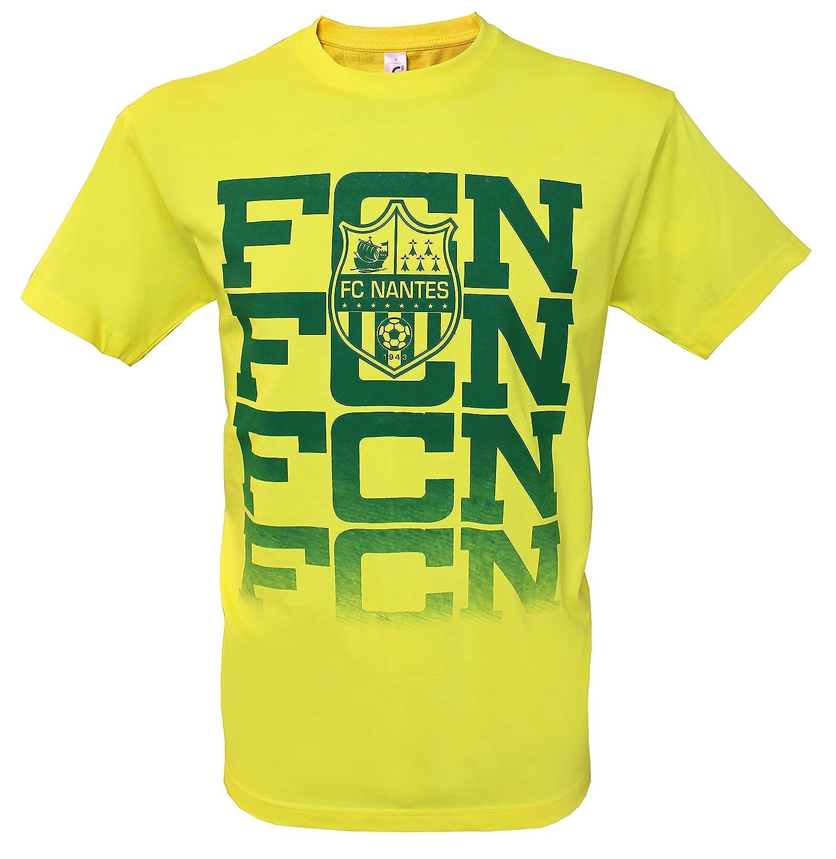 T-shirt FC NANTES Taille adulte homme Ligue 1 Collection officielle Football Club Nantes Atlantique FCNA