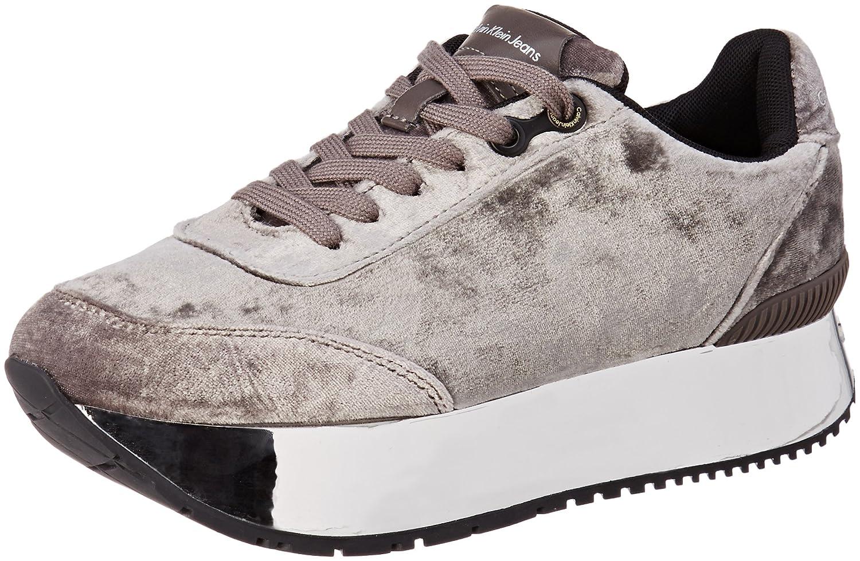 Calvin Klein Cate Velvet, Zapatillas para Mujer