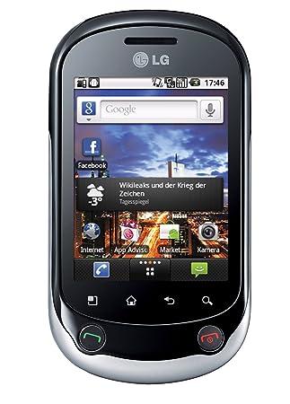 "LG C550 Optimus Chat - Smartphone libre Android (pantalla táctil de 2,8"""