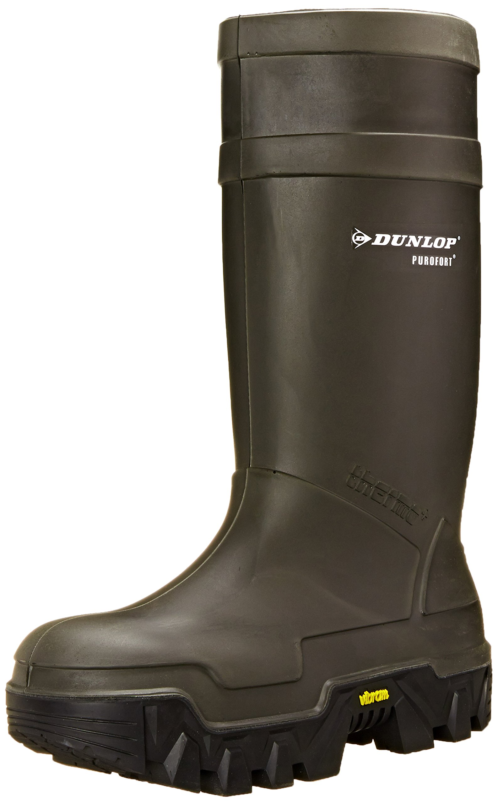 Dunlop E90203311 Explorer Thermo Full Safety Boots with Slip-Resistant Vibram Rubber Sole and Steel Toe, 100% Waterproof Purofort Material, Lightweight and Durable Protective Footwear, Size 11 by Dunlop Protective Footwear