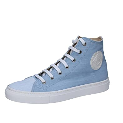 Femme Roy Roger's 41,5 EU Sneakers/Basket Mode Pourpre Textile AT931