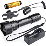 Evolva Future Technology T20 IR 38mm Lens Infrared Light Night Vision Flashlight Torch - Infrared Light is Invisible to Human Eyes - To be used with Night Vision Device