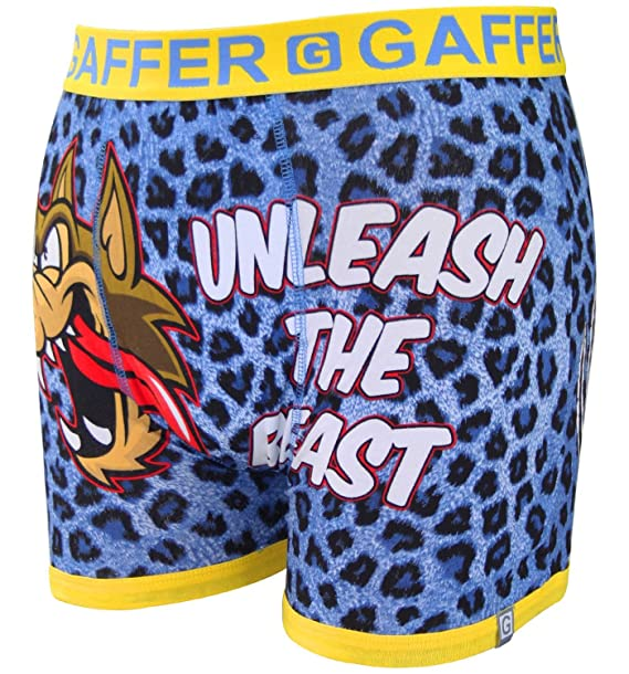 Gaffer Men Boxer Beast-Blue S