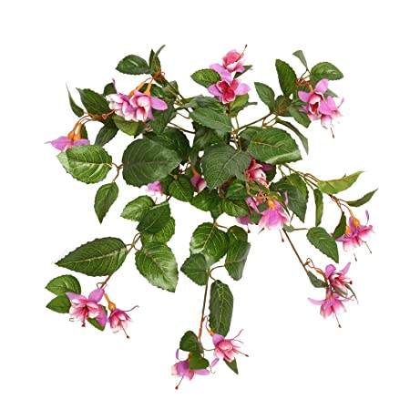 Floristrywarehouse artificial silk fuchsia fuschia lilac pink 50cm floristrywarehouse artificial silk fuchsia fuschia lilac pink 50cm hanging basket window box flowers mightylinksfo
