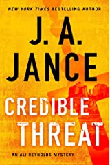 Credible Threat (15) (Ali Reynolds Series) Hardcover