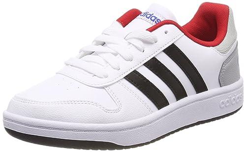 adidas Vs Switch 2 K, Scarpe da Fitness Unisex-Bambini, Grigio (Gritre/Ftwbla/Negbas 000), 35.5 EU